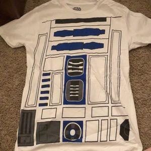 R2-D2 Tee w/ Skirt! Medium Shirt and L/XL Skirt
